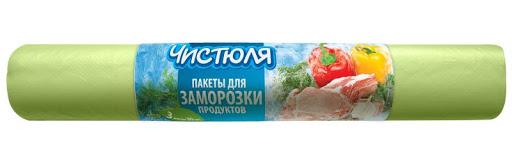 Пакеты для заморозки продуктов  Чистюля  3л 30шт.