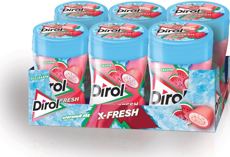 Жевательная резинка  Dirol  X-Fresh Арбузный лед