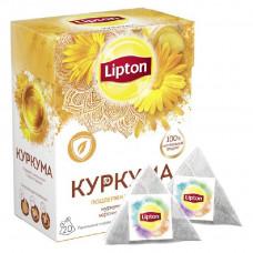 Травяной напиток  Липтон  куркума с имбирем 20шт*1.4гр.