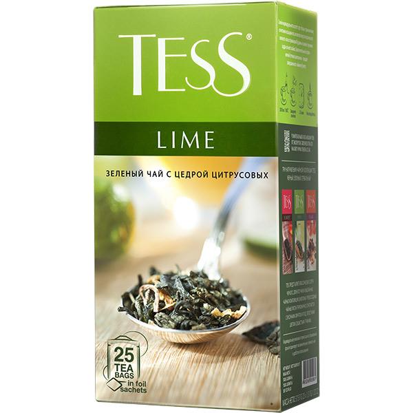 Чай Тесс зеленый лай 25шт*1