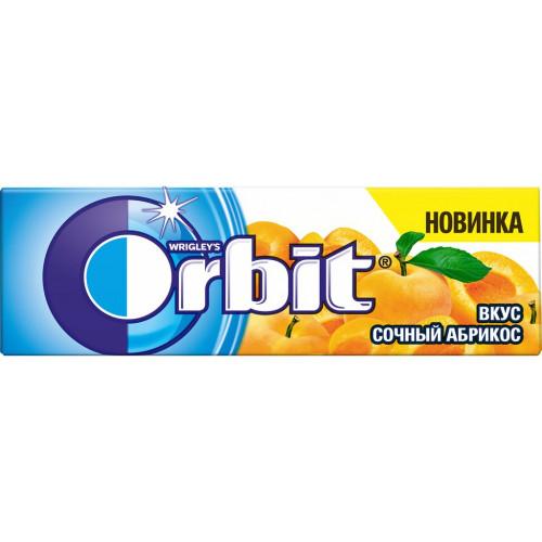 Жевательная резинка  Орбит  сочный абрикос 13.6гр.