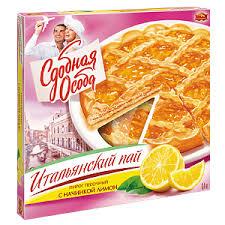 Пирог  Итальянский пай  с лимоном 400гр.