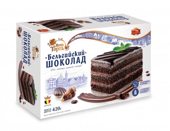 Торт  Бельгийский шоколад  420гр.