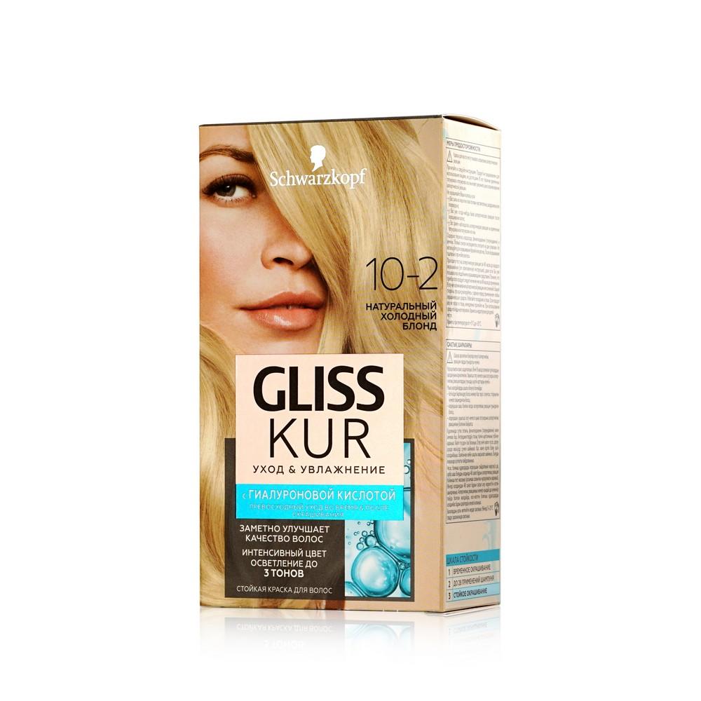 Краска для волос  Gliss Kur  гиалуроновой кислотой