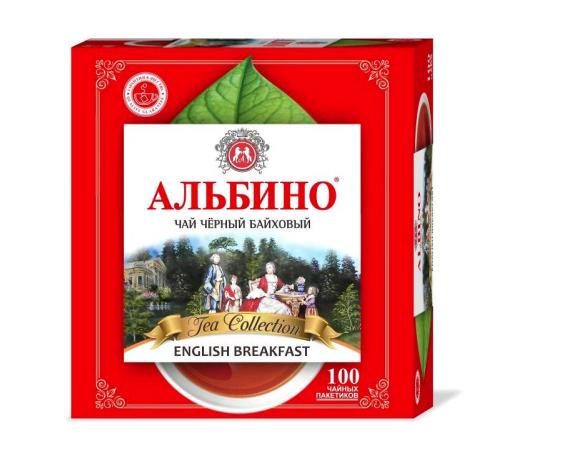 Чай  Альбино  Английский завтрак 100*1.6гр.