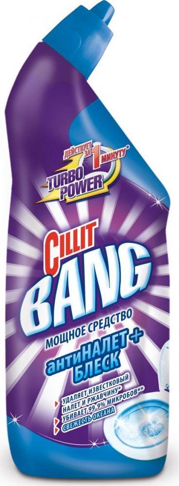 Дезинфицирующее средство  Cillit Bang  анти налет + блеск