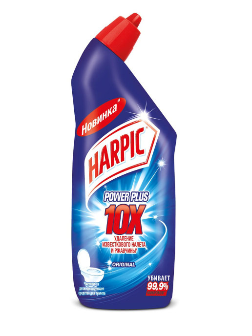 HARPIC POWER PLUS ORIGINAL СР-ВО ДЕЗИНФ ДЛЯ ТУАЛЕТА 450МЛ