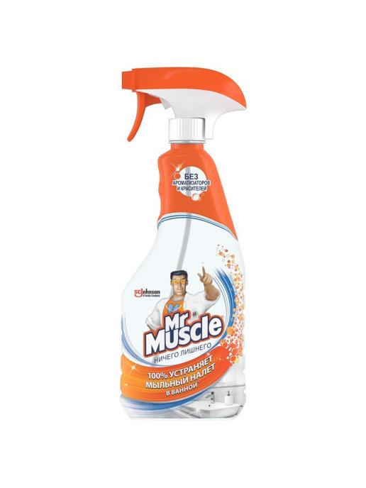 Средство для ванны мистер мускул  500 мл триггер ничего лишнего