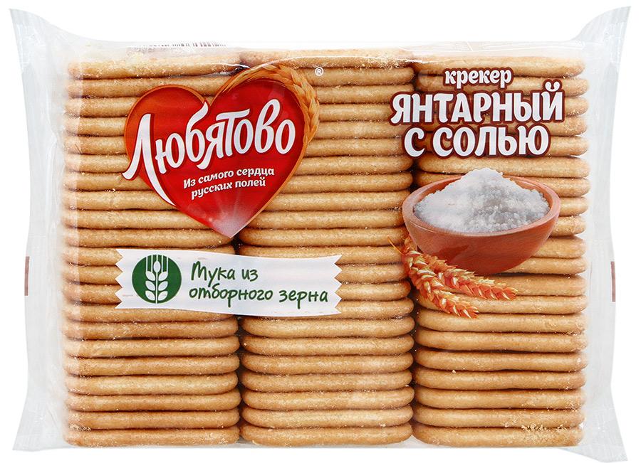 КРЕКЕР 'ЯНТАРНЫЙ С СОЛЬЮ' 500 Ц/П
