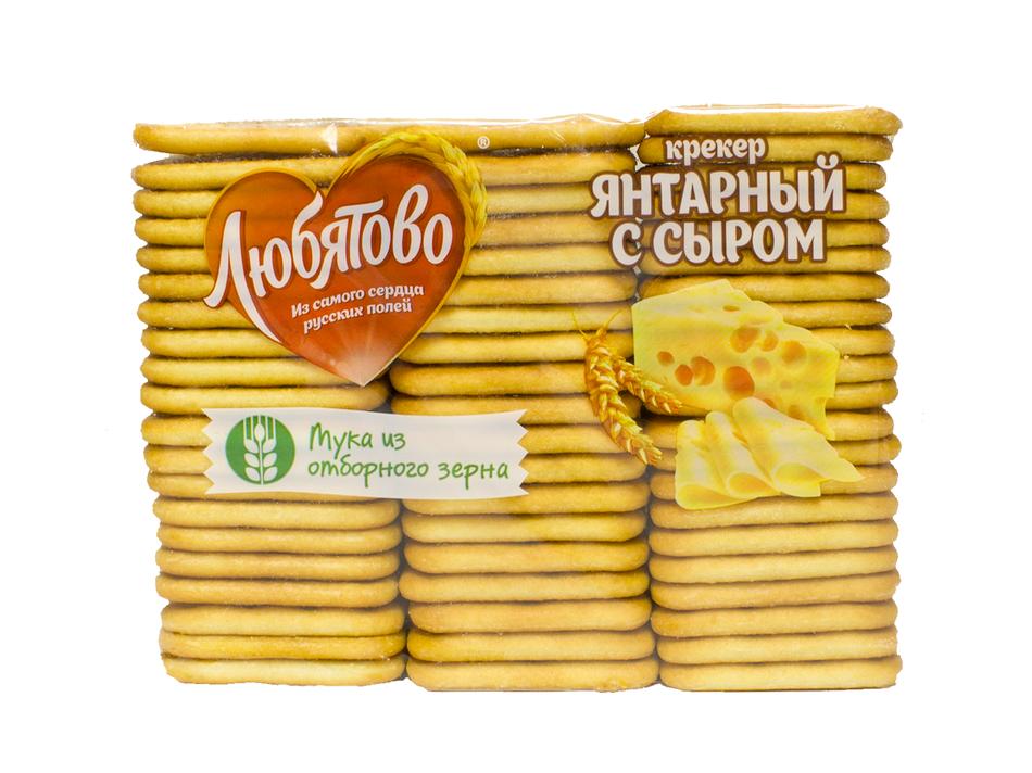 КРЕКЕР 'ЯНТАРНЫЙ С СЫРОМ' 500 Ц/П