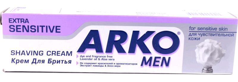 Гель для бритья  Arko  Sensetive 65гр.