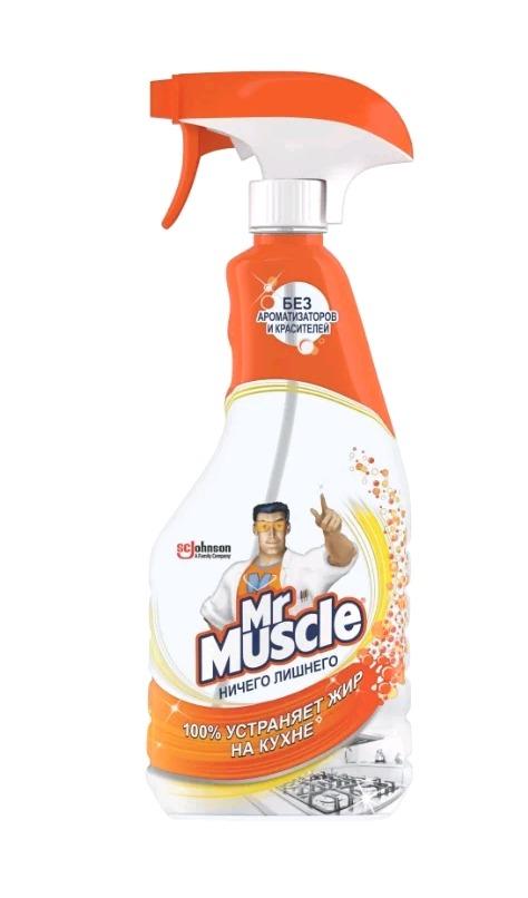Средство для кухни Мистер  Мускул   500 мл триггер ничего лишнего