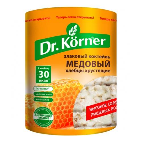 Хлебцы Dr. Korner  Злаковый коктейль  медовый 100гр.