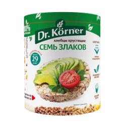 Хлебцы Dr. Korner  7 злаков  100гр.