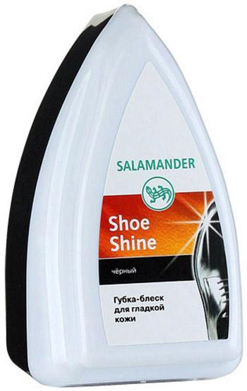 Губка для обуви из гладкой кожи Salamander Shoe Shine черная