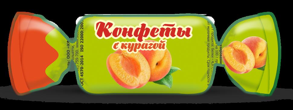 КОНФЕТЫ ГЛАЗ.С КУРАГОЙ ФАС.1КГ(СЛАСТИ)