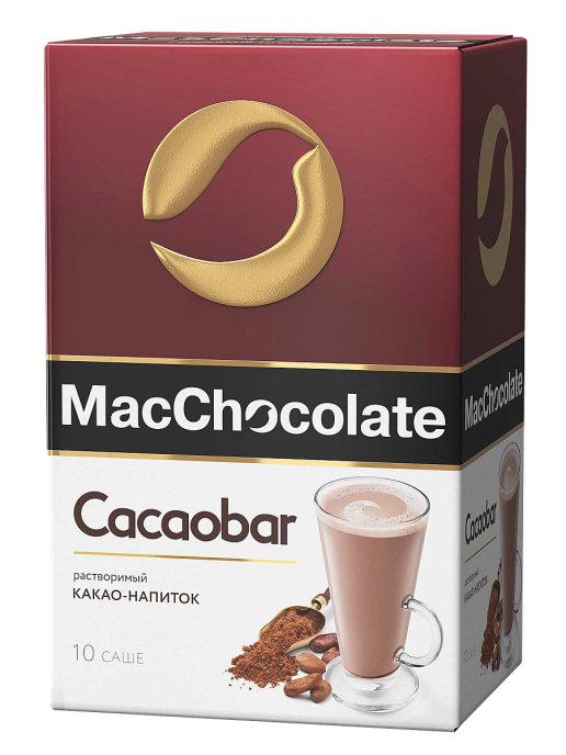 Какао-напиток растворимый какаобар MACCHOCOLATE 20 гр