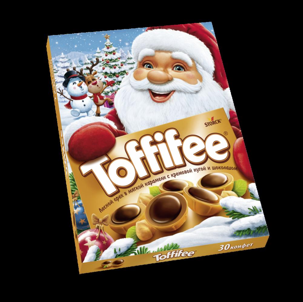 Конфеты  Toffifee  Санта