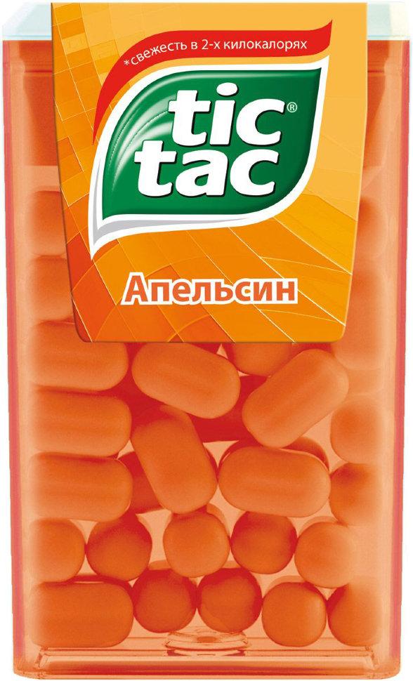 Драже Tic Tac со вкусом апельсина