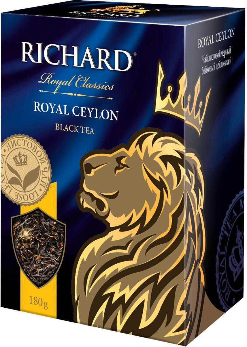 Чай Richard 'Royal Ceylon' черный крупнолистовой 180г