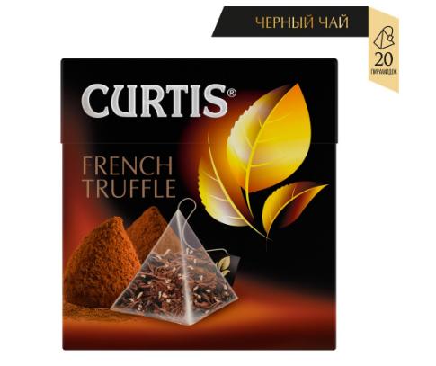 Чай Curtis 'Fresh Mojito' зеленый ароматизированный средний лист 20 пирамидок