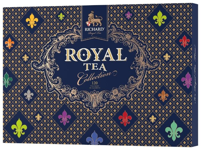 Чай Richard  Royal Tea Collection  ассорти 120 сашет
