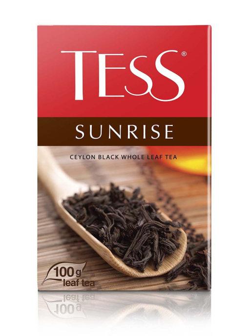 Чай черный Tess Sunrise 100гр.