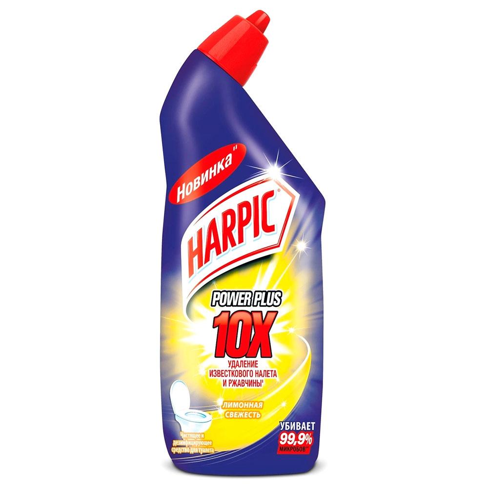 Средство дезинфекции для туалета Harpic Power Plus Лимонная свежесть 450мл.