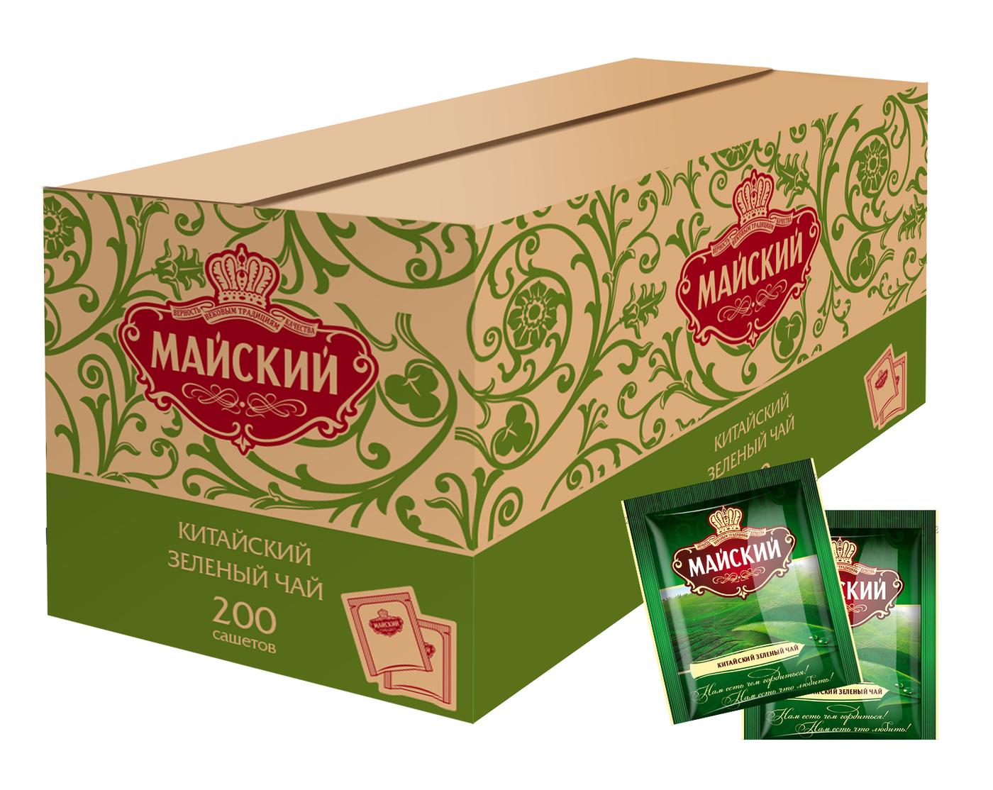 Чай зеленый Майский 2гр*200шт.