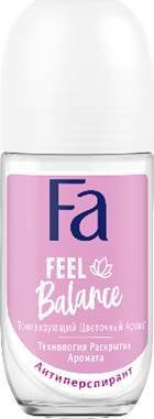 Деозодорант-ролик FA создай настроение FEEL BALANCE 50мл.