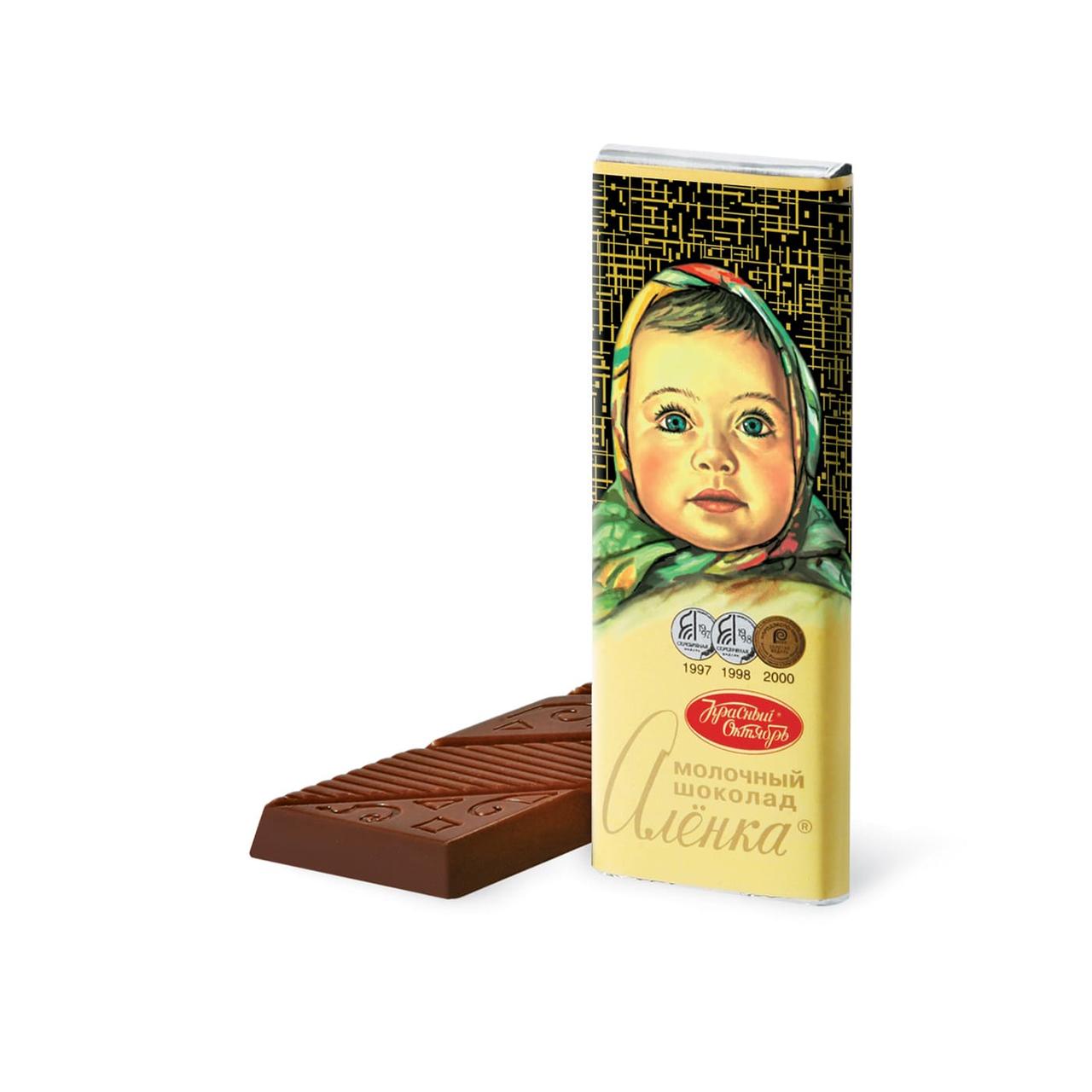 Шоколад Аленка молочный 20гр.