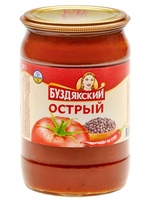 Соус томатный острый 500 гр