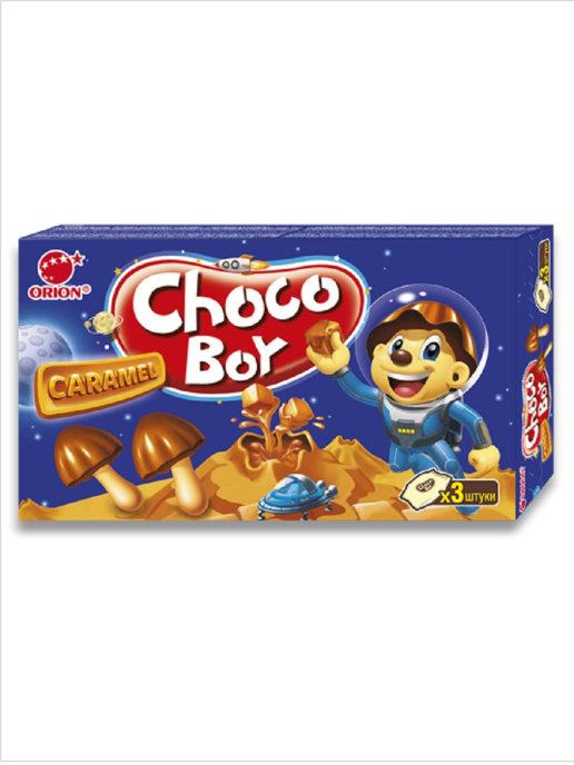 Печенье Чоко  Бой карамель 135 гр