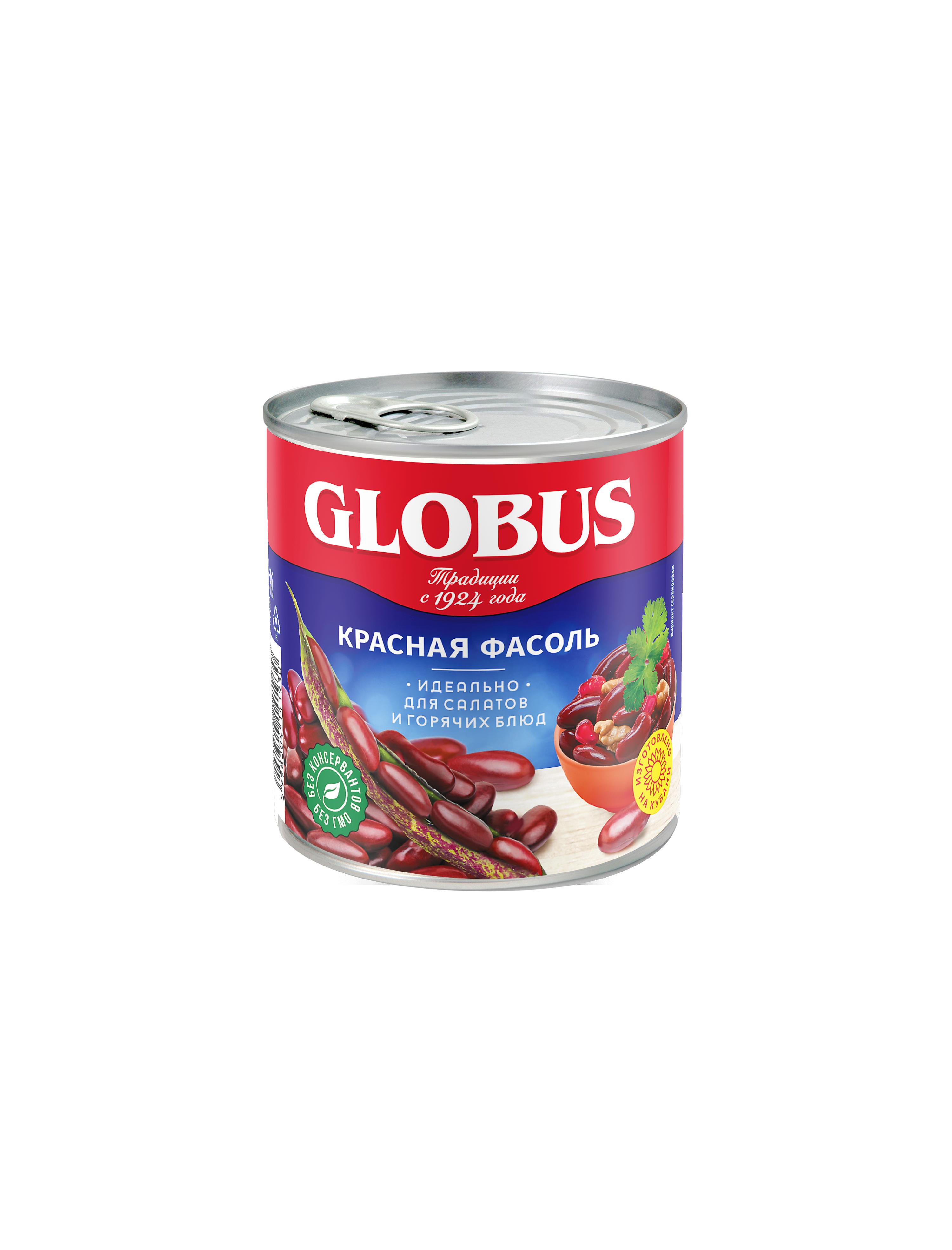 Фасоль красная Globus 425мл/400гр.