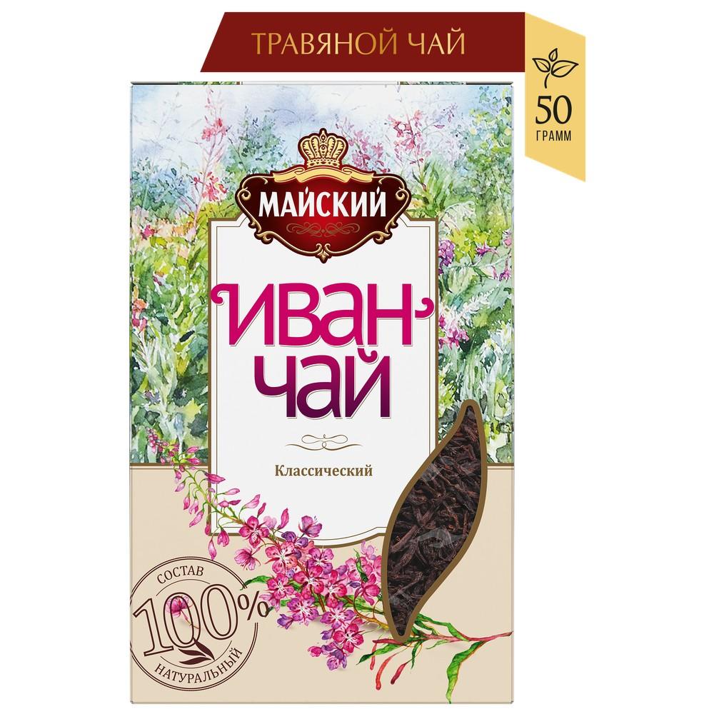 Чайный напиток МАЙСКИЙ 'Иван-чай классический' 50г