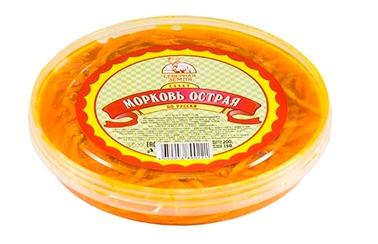 Морковь по корейски 200 гр