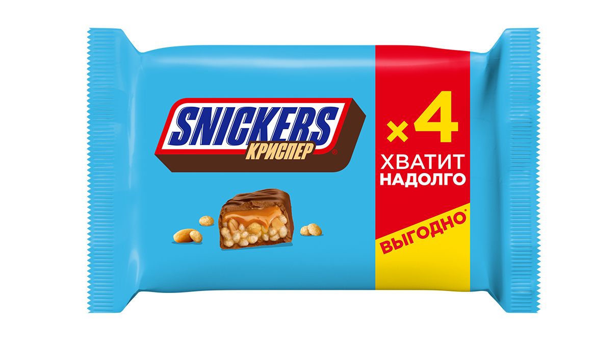 SNICKERS криспер 40 гр