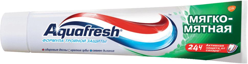 Зубная паста аквафреш 3+ мягко-мятная  100 мл