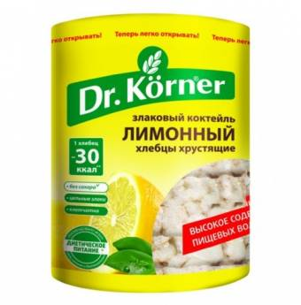 Хлебцы Dr. Korner Злаковый коктейль