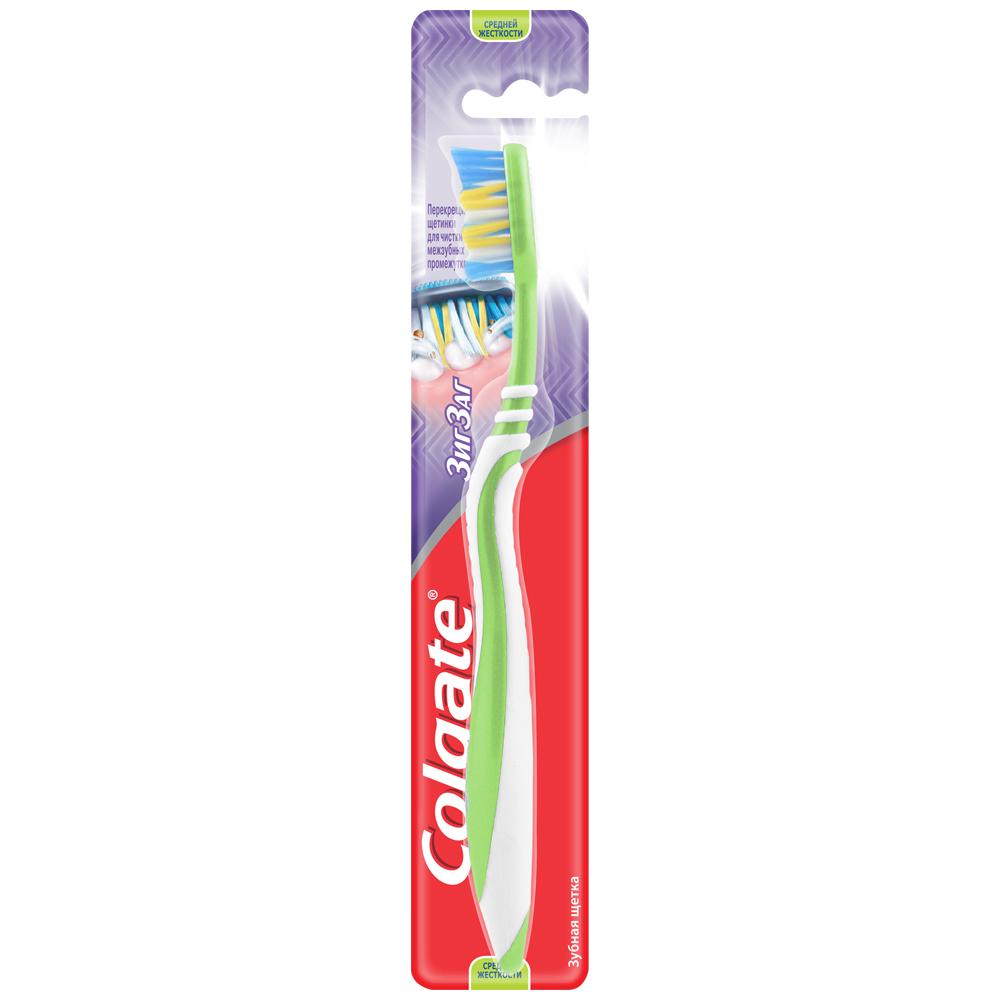 Зубная щетка COLGATE классика здоровья средний жесткости