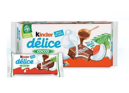 Бисквит Киндер делис кокос 37гр.