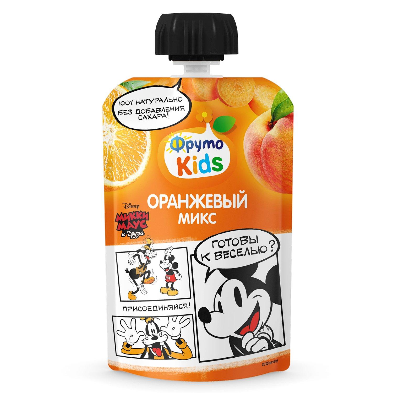 ФрутоKIDS 90 гр  Пюре из яблок