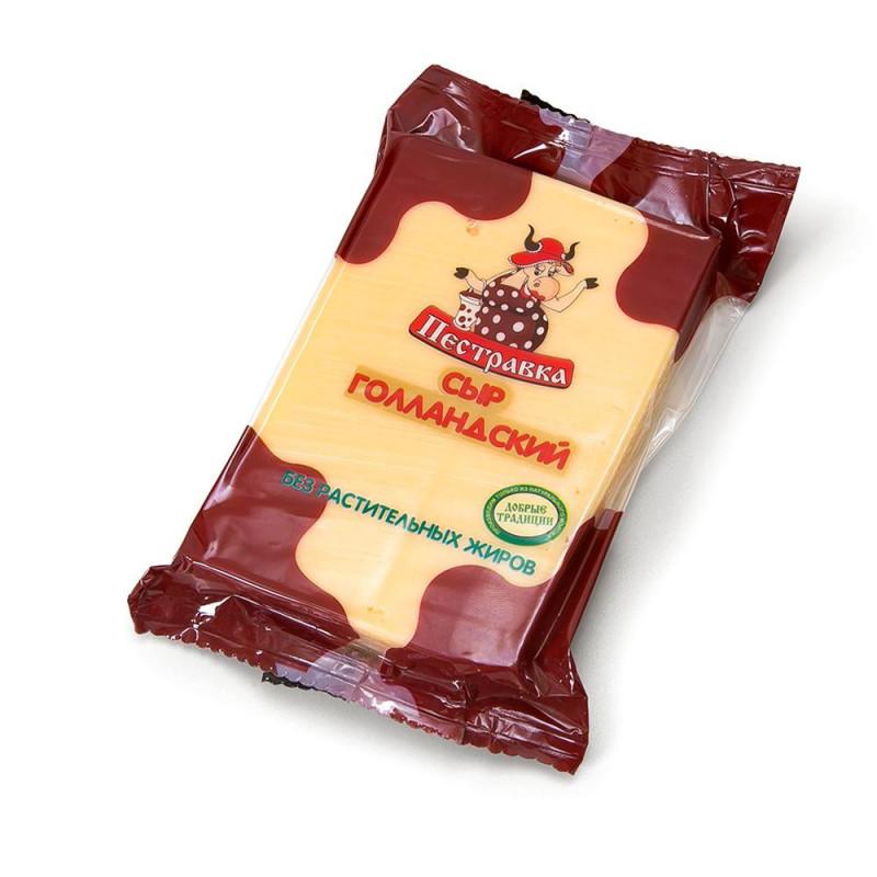 Сыр Голландский 'Пестравка' 45% 200гр.