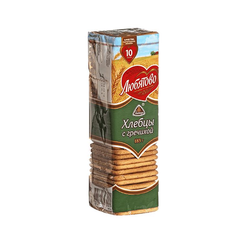 Хлебцы с гречихой 185гр.