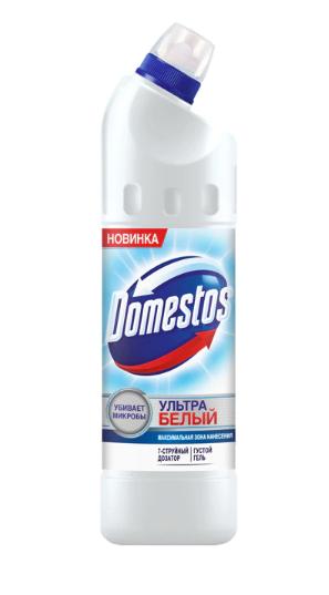 Чистящее средство для унитаза DOMESTOS ультра белый 750мл.