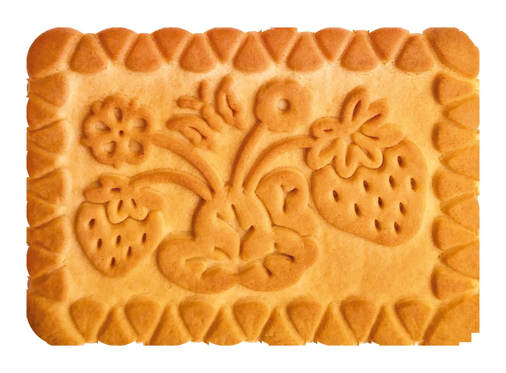 Печенье сахарное 'Земляничное ' 6