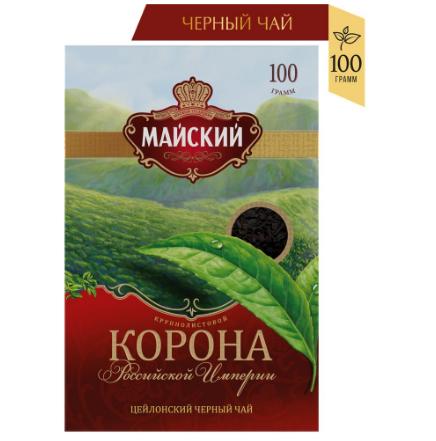 Чай МАЙСКИЙ Корона Российской Империи