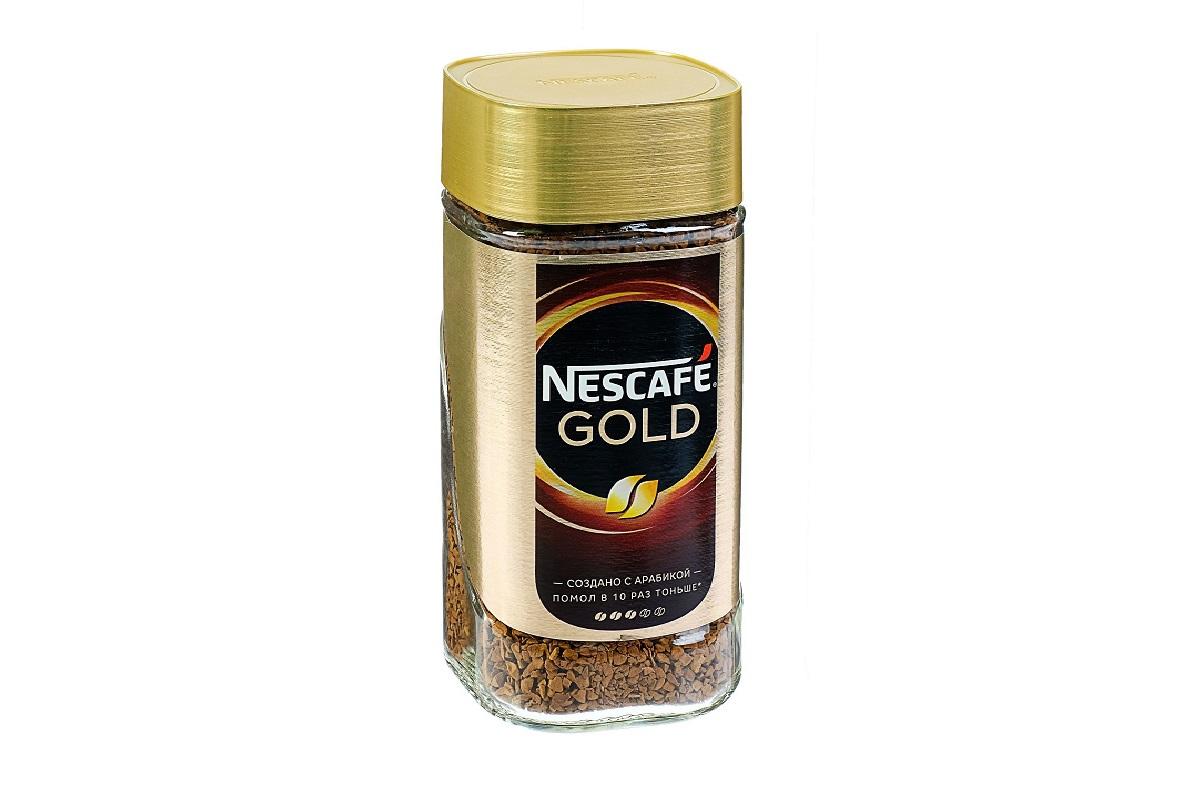 Кофе  Нескафе  Голд растворимый 47.5гр.