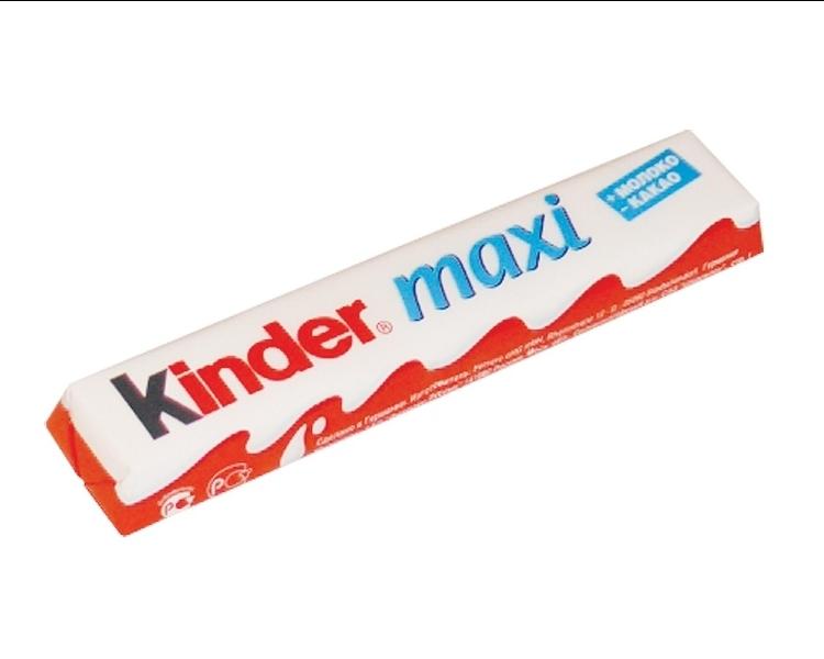 Шоколад  Киндер Макси  21гр.