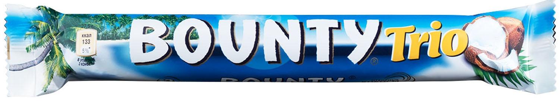 Шоколад  Баунти Трио  82.5гр